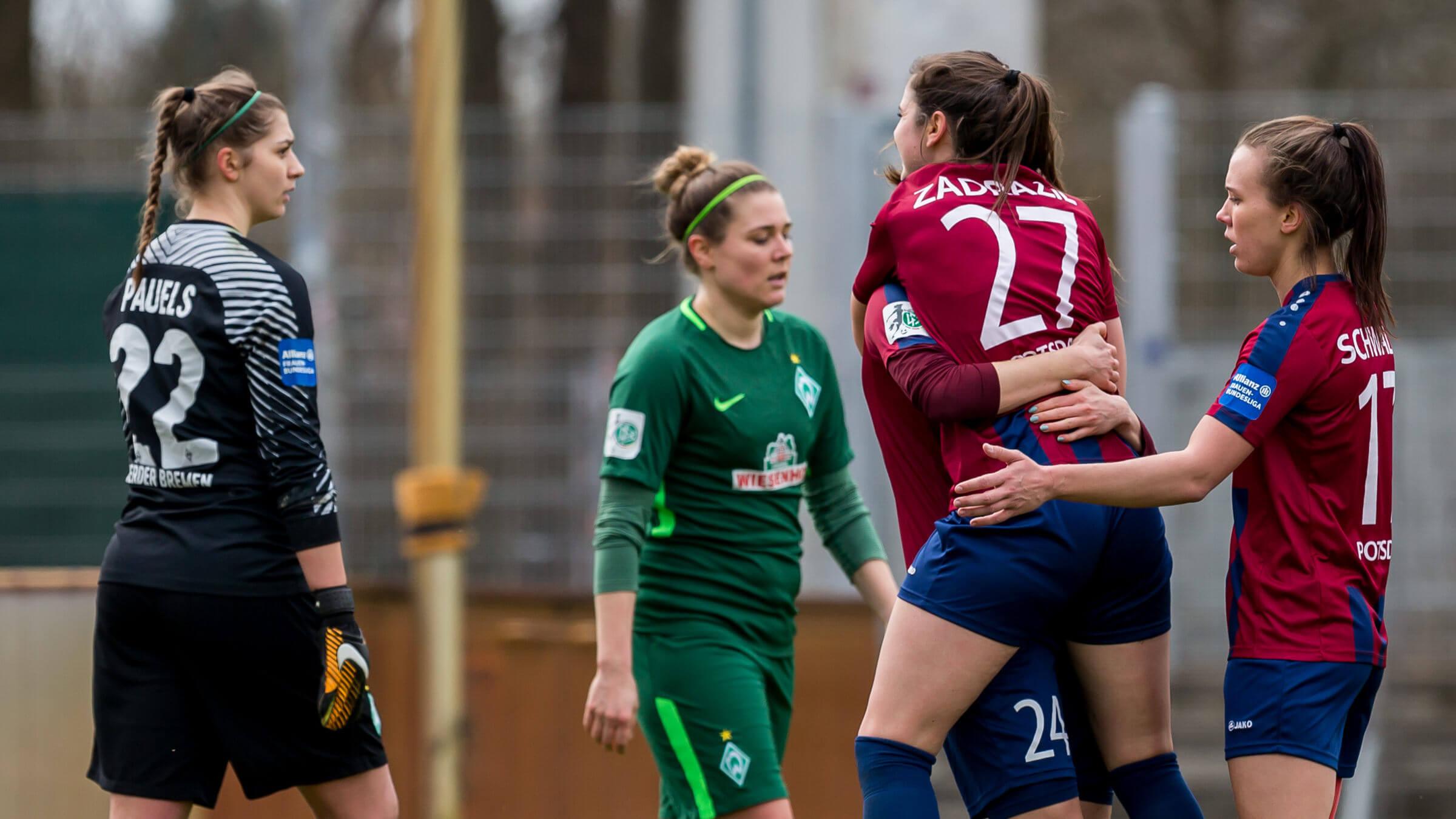 Auswärtssieg 15 Beim Sv Werder Bremen 1 Ffc Turbine Potsdam