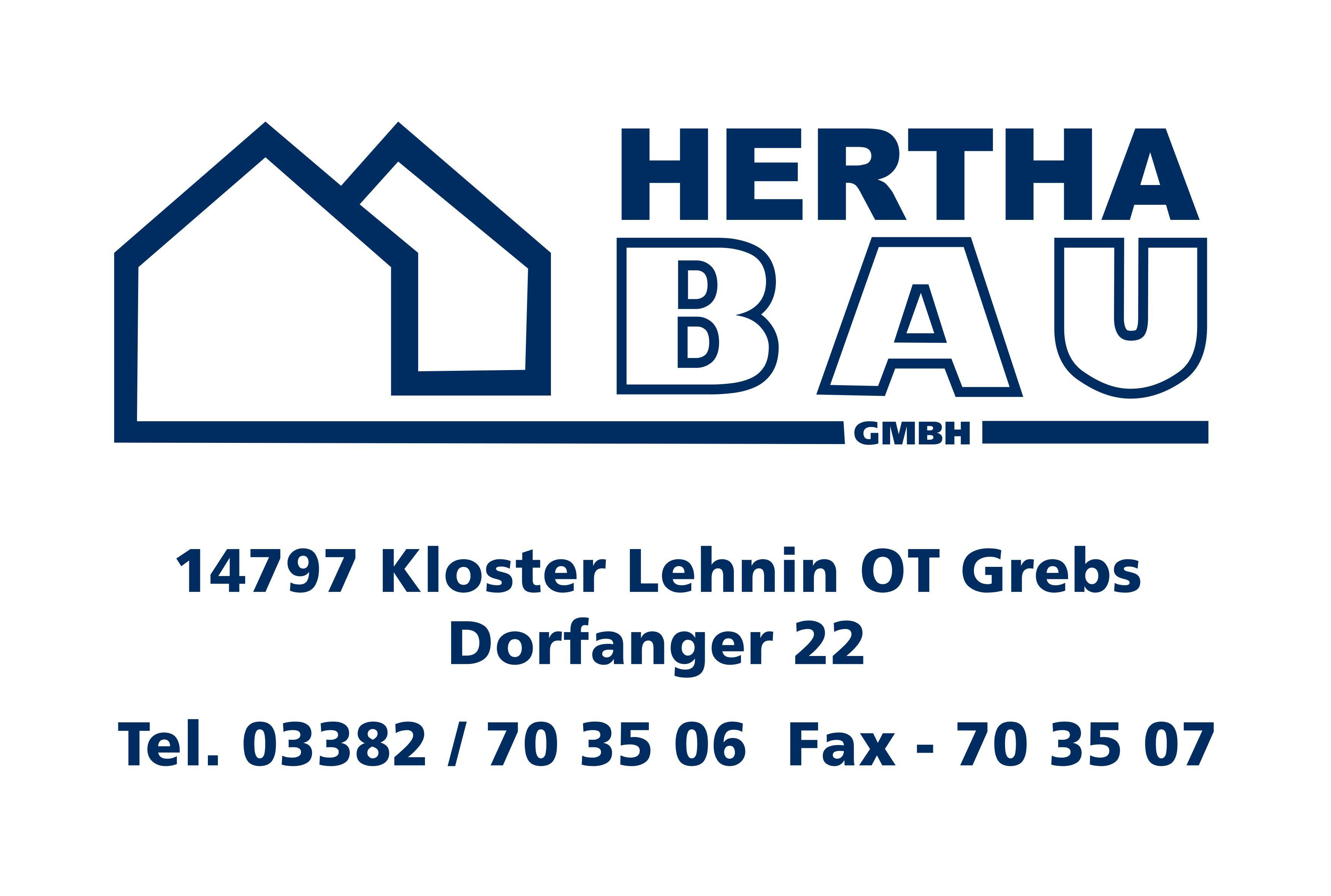 Hertha Bau Logo