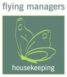 flying managers housekeeping Logo