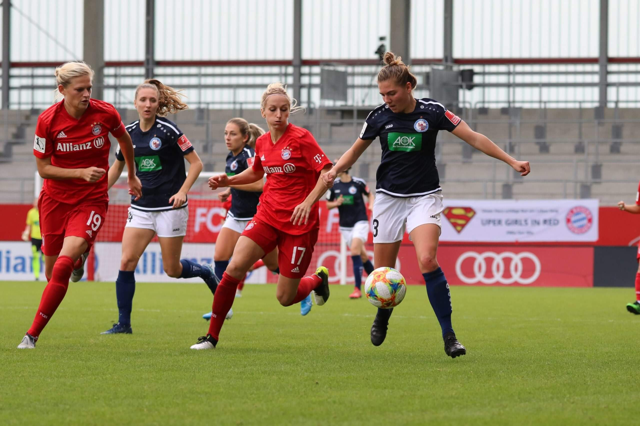Rieke Dieckmann vs Bayern München