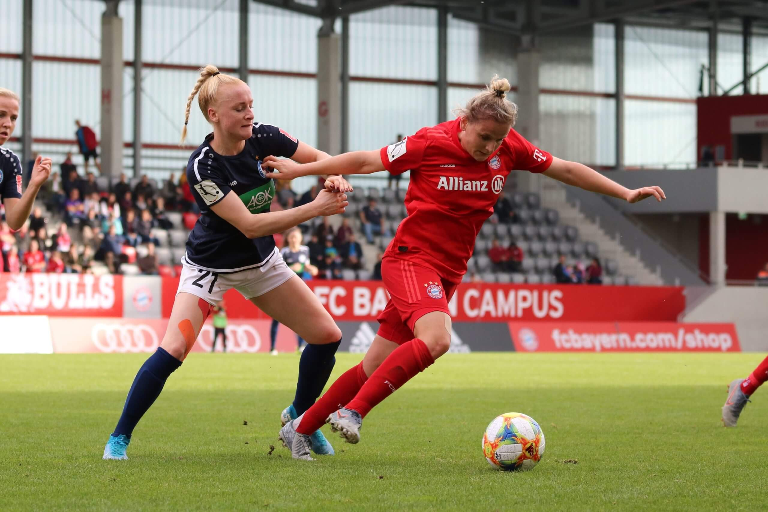 Anna Gerhardt vs Bayern München