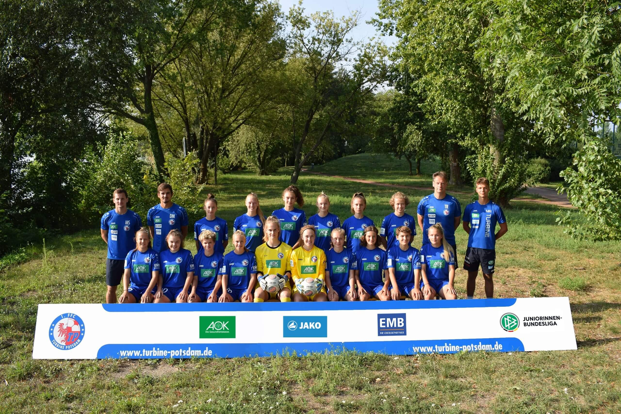 B-Juniorinnen Turbine Potsdam