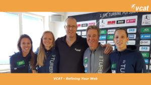 Vcat Consulting GmbH und der 1. FFC TurbinePotsdam