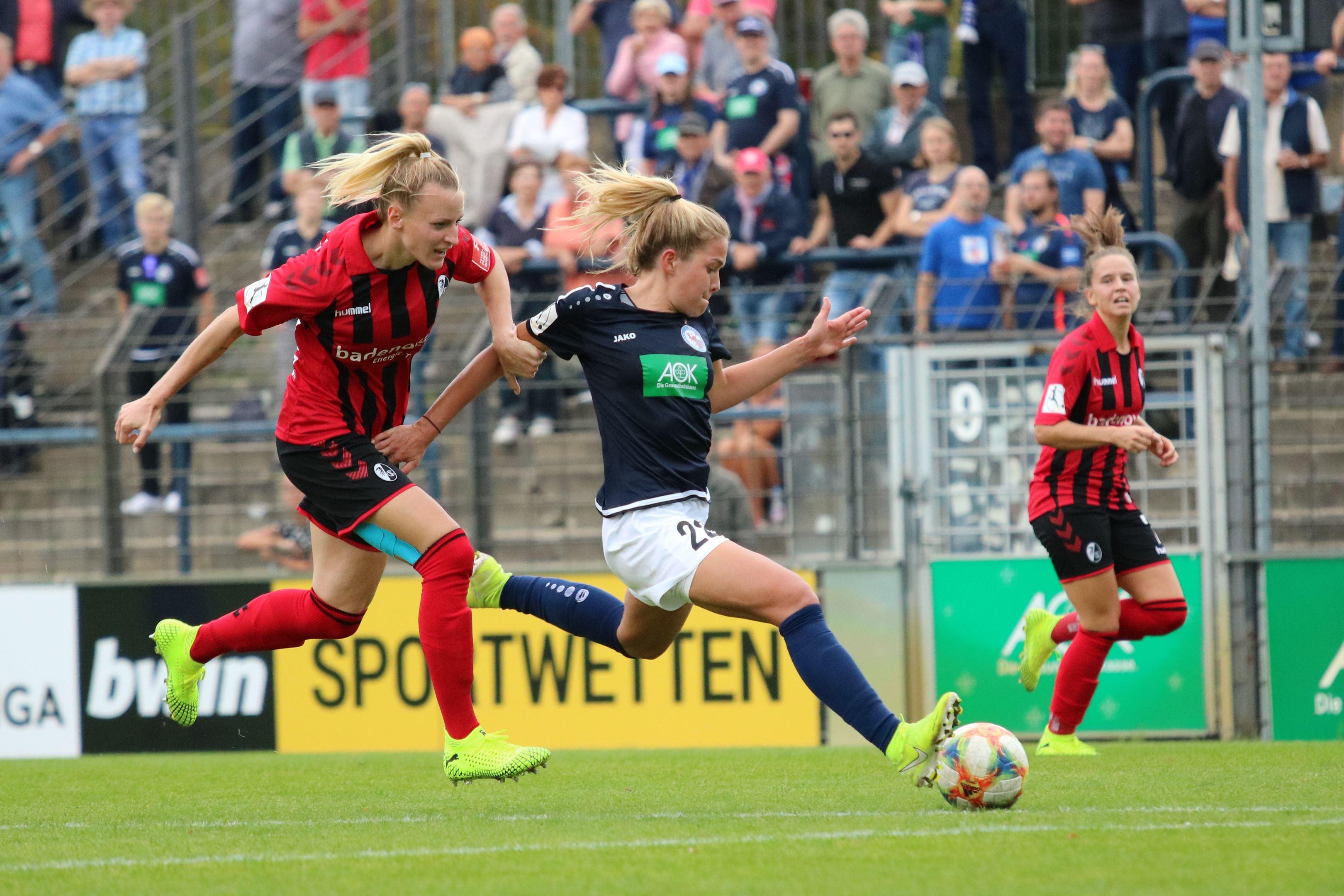 Nina Ehegötz vs SC Freiburg