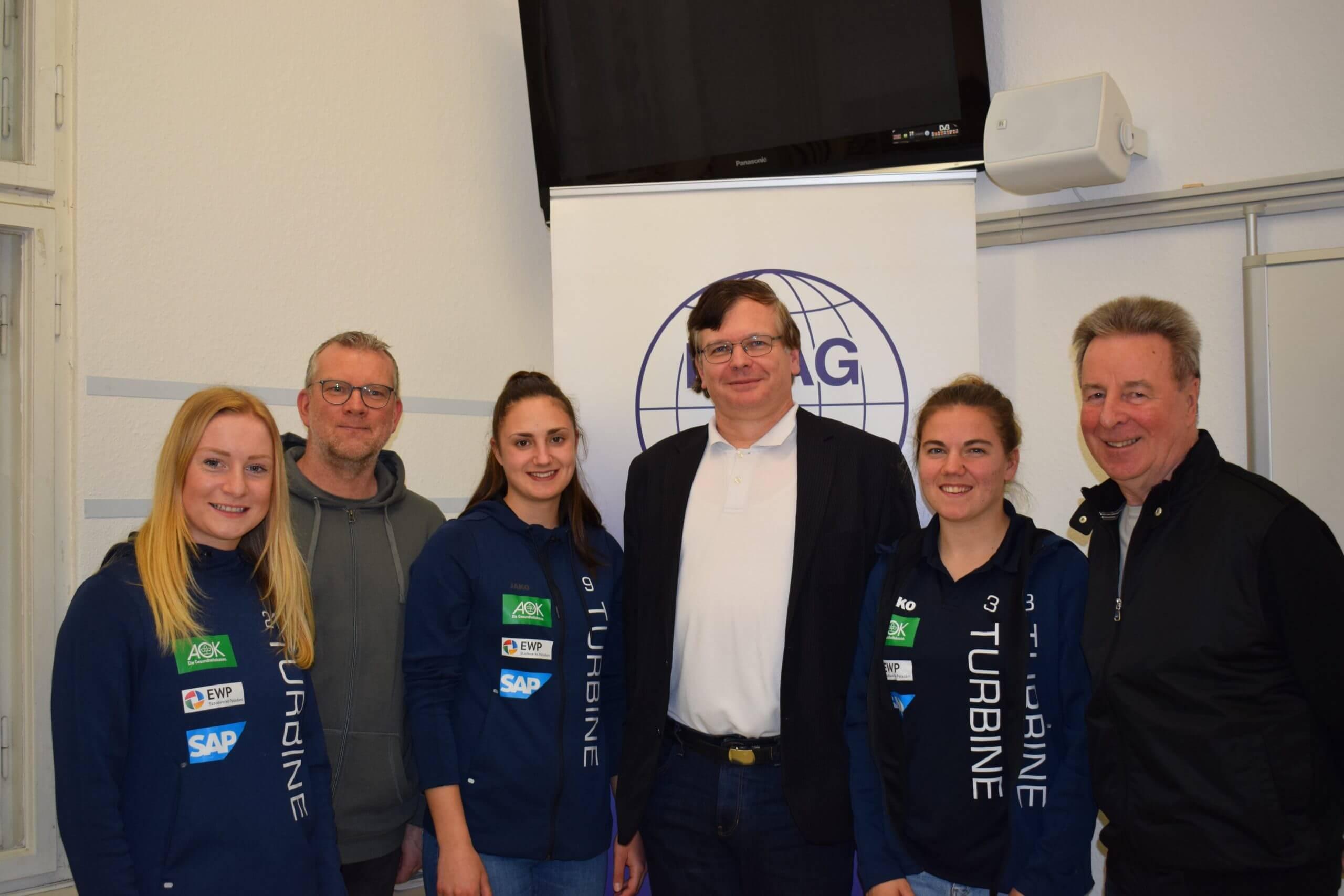 Foto Anna Gerhardt, Dirk Heinrichs, Adrijana Mori, Kilian Kindelberger, Rieke Dieckmann und Rolf Kutzmutz